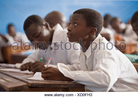 Classroom in Liberia - Stock Photo