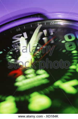 Stopwatch, detail, blurs - Stock Photo