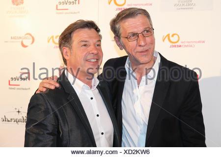 Patrick Lindner and Peter Schaefer - Stock Photo