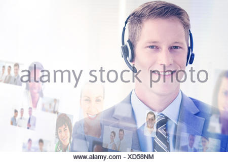Composite image of business people - Stock Photo