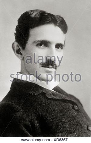 Inventor And Physicist Nikola Tesla Stock Photo 52112591 Alamy