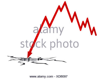 jumping red pointer breaks a white floor - Stock Photo