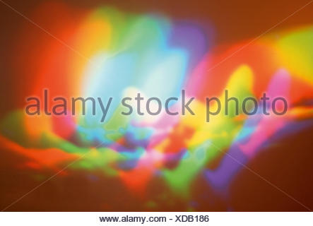 Coloured lighting effect - Stock Photo