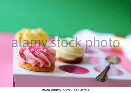 Assorted cupcakes - Stock Photo
