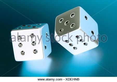 Pair of dice - Stock Photo