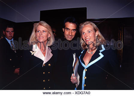Copperfield, David, * 16.9.1956, American conjurer, half length, Munich, 10.9.1993, Additional-Rights-Clearances-NA - Stock Photo