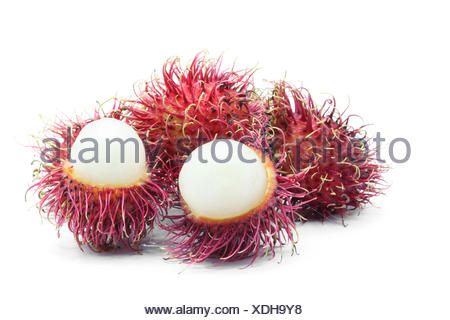 tropical Rambutan fruit - Stock Photo