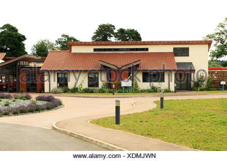 Tapping House, The Norfolk Hospice,  Hillington, Norfolk, England, UK , English hospices - Stock Photo