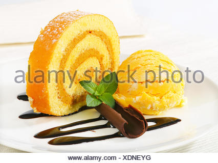 food, aliment, sweet, closeup, stuffed, fruit, plate, cake, pie, cakes, peanut, - Stock Photo