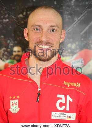 Yves Grafenhorst (SC Magdeburg) - Stock Photo