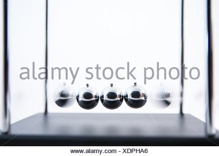 Newtons Cradle - Stock Photo