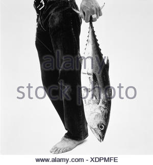 barefoot black and white body part part of capture catalogue 2 conceptual fish fisheries human foot humour leg low section