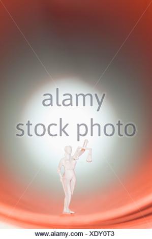Figurine of justice - Stock Photo