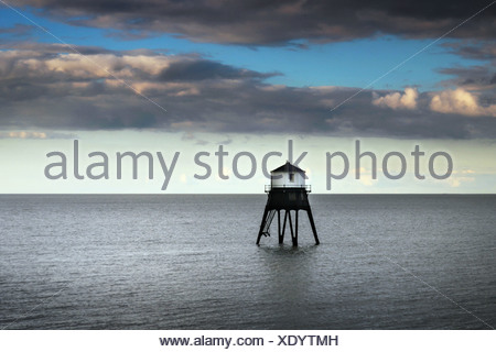 Dovercourt victorian lighthouse, Harwich, Sussex, England UK - Stock Photo