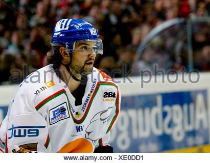 Travis BRIGLEY, icehockey player Augsburger Panther - Stock Photo