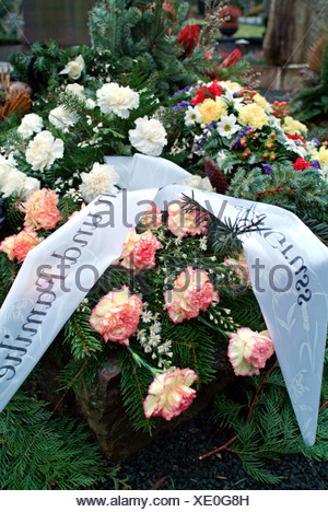 Fresh grave with flowers and farewell greetings stock photo 1717716 fresh grave with flowers and farewell greetings stock photo altavistaventures Image collections