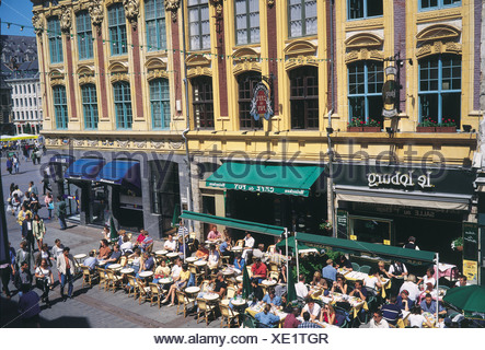 Lille, Picardy, France - Stock Photo