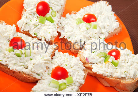 Sandwiches with cream cheese and celery,Sandwiches with cream cheese and celery,Sandwiches with cream cheese and celery,Sandwiches with cream cheese and celery,Sandwiches with cream cheese and celery,Sandwiches with cream cheese and celery,Sandwiches with - Stock Photo