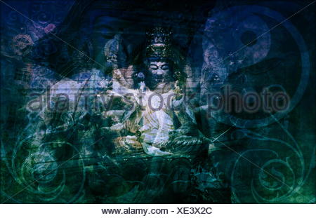 Secret Society Gang Religion - Stock Photo