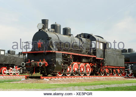 E series steam engine - Stock Photo