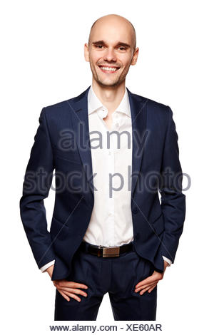 Smiling Man in Sport Suit - Stock Photo
