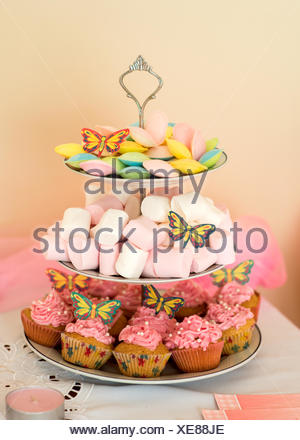 Treats and cupcakes - Stock Photo