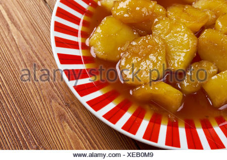 Candied Sweet Potatoes - Stock Photo
