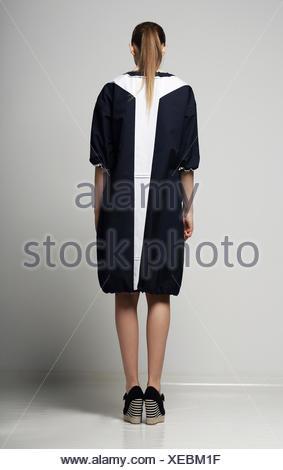 woman, beautiful, beauteously, nice, single, isolated, fashion, modern, - Stock Photo