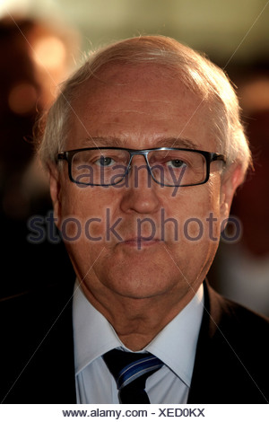 Economics Minister Rainer Bruederle, Marienrachdorf, Rhineland-Palatinate, Germany, Europe - Stock Photo