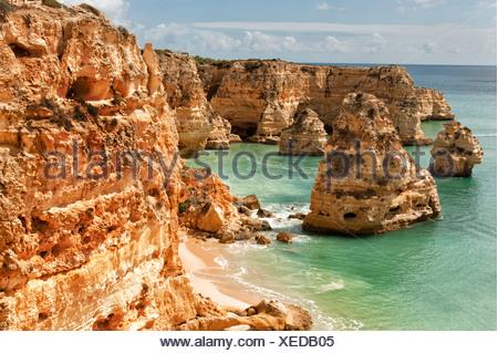 Praia da Marinha, Carvoeiro - Stock Photo