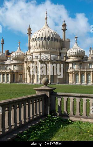 Der Royal Pavilion. Brighton, East Sussex, England, Großbritannien - Stockfoto