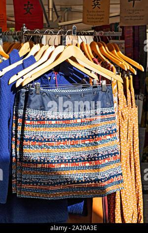 Hobart Australien/Salamanca in Salamanca Place, Hobart Tasmanien. Der malerischen Salamanca Place Revier ist ein beliebter Ort für Touristen ein - Stockfoto
