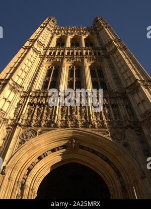 Houses of Parliament London, Großbritannien - Stockfoto