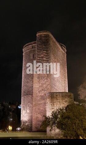 Palast Des Palastkomplexes Ein Unesco Weltkulturerbe In Der Altstadt In Baku Aserbaidschan Yollug 19 Jahrhundert Teppich Im Museum Stockfoto Bild 141908206 Alamy