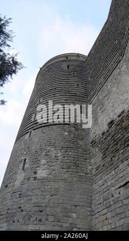 Der Palast Der Shirvanshahs Ist Ein Palast Aus Dem 15 Jahrhundert Durch Die Shirvanshahs In Der Altstadt Von Baku Aserbaidschan Stockfotografie Alamy