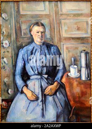 ''' La Femme à la Cafetière'', 1890-1895, Paul Cézanne, 1839-1906, Musée d'Orsay, Paris, Frankreich, Europa - Stockfoto