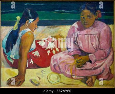 ''' Femmes de Tahiti '''dit aussi'ur la Plage'', 1891, Paul Gauguin, Musée d'Orsay, Paris, Frankreich, Europa - Stockfoto
