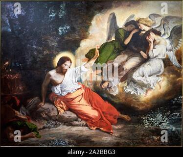 ''' Le Christus Au Jardin des Oliviers'', 1827, Eugène Delacroix, Petit Palais Musée des Beaux-Arts de la Ville de Paris, Frankreich, Europa - Stockfoto