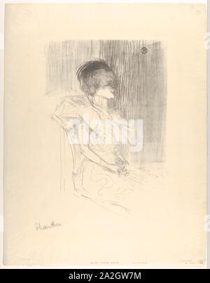 Marcelle Lender sitzt, 1895.jpg - 2A2GW7M - Stockfoto