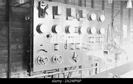Negative - See, Victoria, ca. 1920, Vermittlung von Power House - Stockfoto