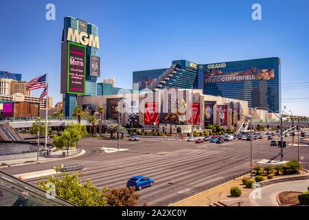 Las Vegas, Nevada, USA - MGM Grand Casino auf dem Strip - Stockfoto