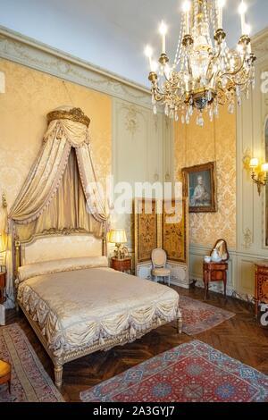 Frankreich, Paris, Jacquemart Andre Museum, Madame's Zimmer - Stockfoto