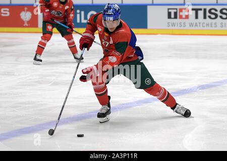 08.10.2019, xemx, Eishockey Champions Hockey League, Augsburger Panther - Bili Tygri Liberec emspor, v.l. Matt Fraser (Augsburger Panther #27) (DFL/ - Stockfoto