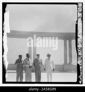 Der US-Senator & Frauen, 12.08.1936. - Stockfoto