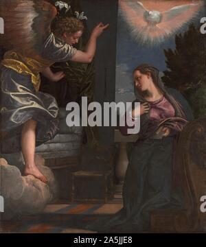 Die Verkündigung, C. 1580. Paolo Veronese (Italienisch, 1528-1588.jpg - 2A5JJE8 - Stockfoto