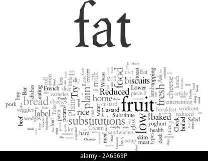 Leicht ersetzen Fette in Ihrer täglichen Ernährung - Stockfoto