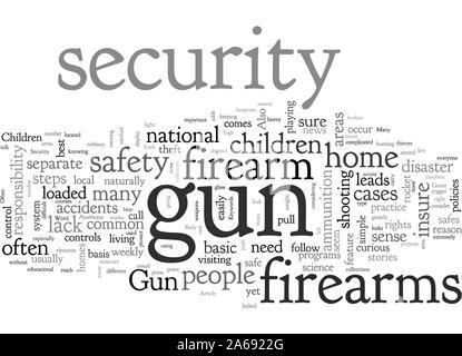 A Bei Gun Sicherheit Näher - Stockfoto