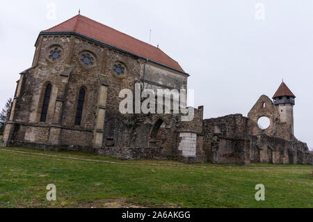 Die Carta Kloster, einem ehemaligen Zisterzienserkloster (Benediktiner) Abtei im südlichen Siebenbürgen - Stockfoto