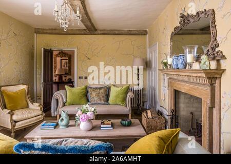 Im Art déco-Stil Wohnzimmer Stockfoto, Bild: 209873751 - Alamy