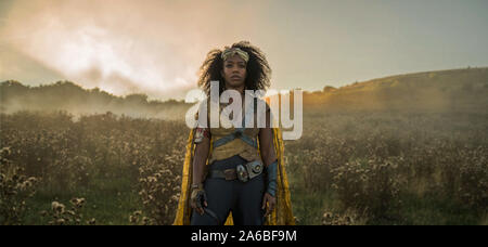 Naomi Ackie ist Paradies in STAR WARS: der Aufstieg von Skywalker (2019). Photo Credit: Jonathan Olley/ILM und Lucasfilm Ltd./Hollywood Archiv - Stockfoto